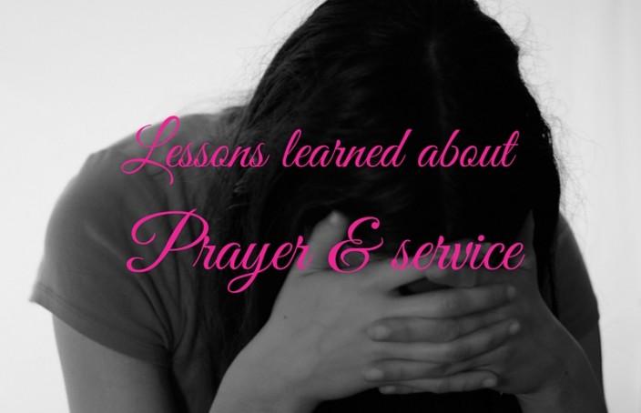Prayer & Service
